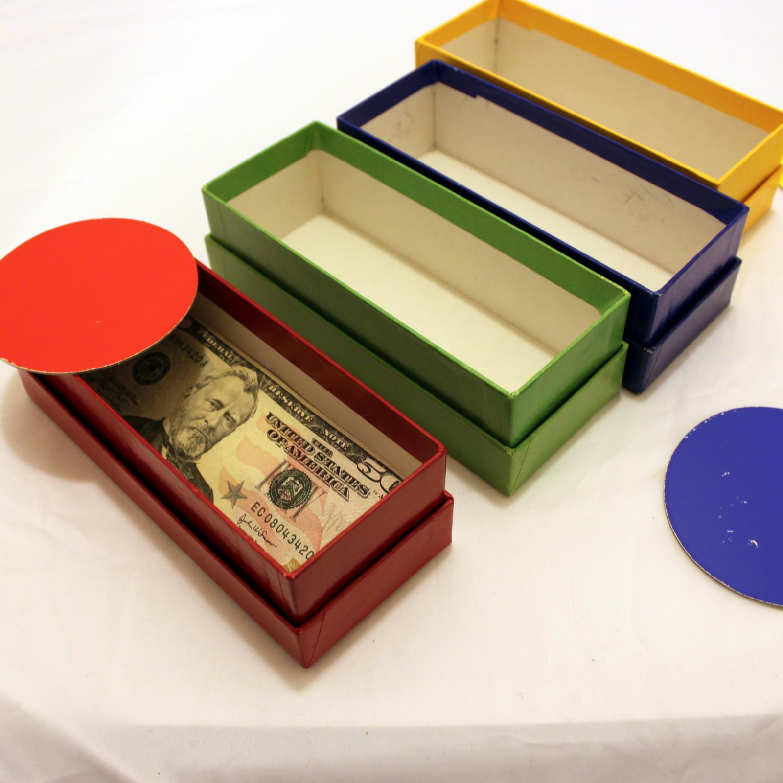 Four Colour Chance by Supreme Magic Company