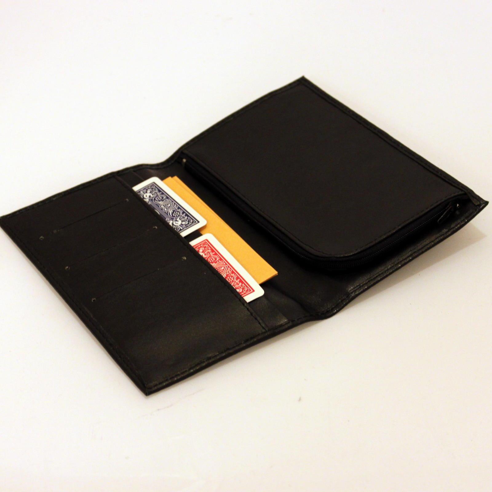 Card In Sealed Envelope in Wallet by Bob Swadling