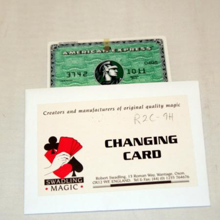 Changing Card by Bob Swadling