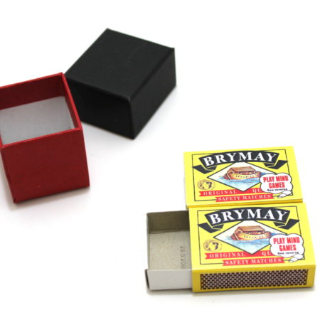 Sympathetic Matchboxes (2014) by Bob Swadling