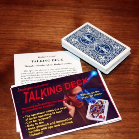 Review by Jon Wells for Talking Deck by Rodger Lovins