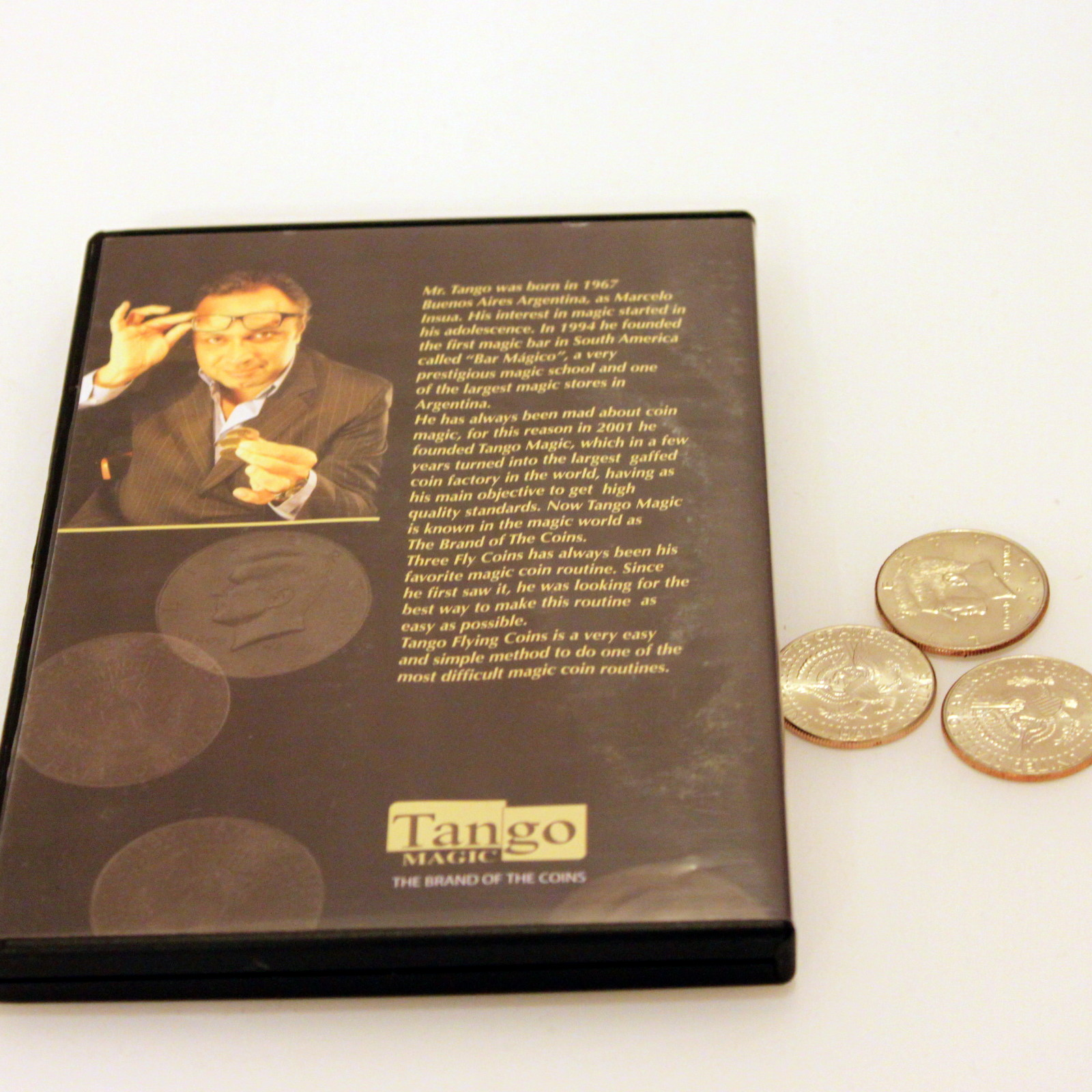 Tango Flying Coins by Tango Magic
