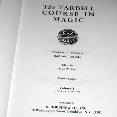 Tarbell Course In Magic Vol. 1 by Harlan Tarbell