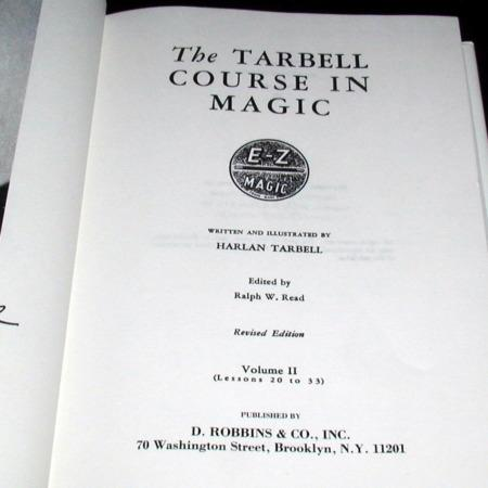 Tarbell Course In Magic Vol. 2 by Harlan Tarbell