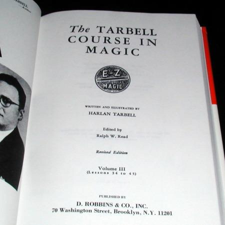 Tarbell Course In Magic Vol. 3 by Harlan Tarbell