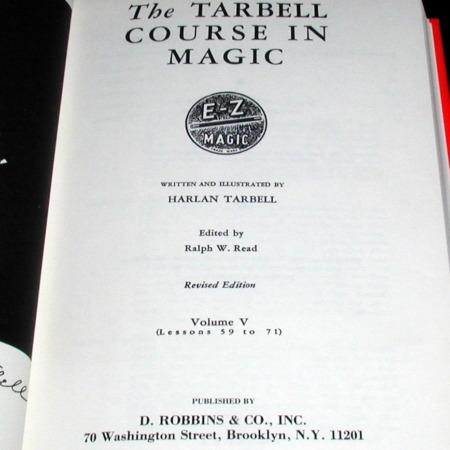 Tarbell Course In Magic Vol. 5 by Harlan Tarbell
