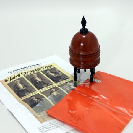 Tarbell Orange vase by Viking Mfg.