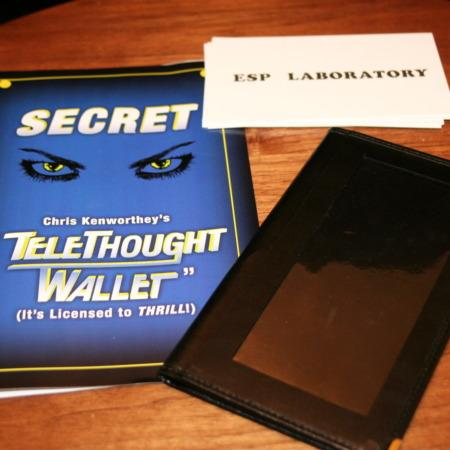 TeleThought Wallet, Large by Chris Kenworthey