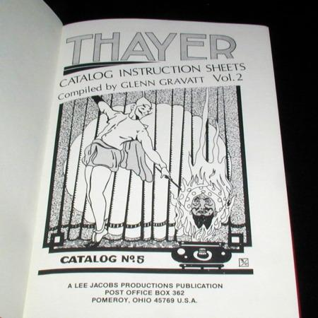 Thayer Quality Magic Vol. 2 by Glenn Gravatt