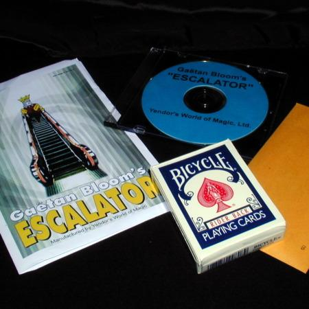 Review by Andy Martin for The Escalator by Gaetan Bloom