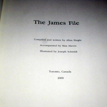 James File, The (Collector's Edition) by Allan Slaight