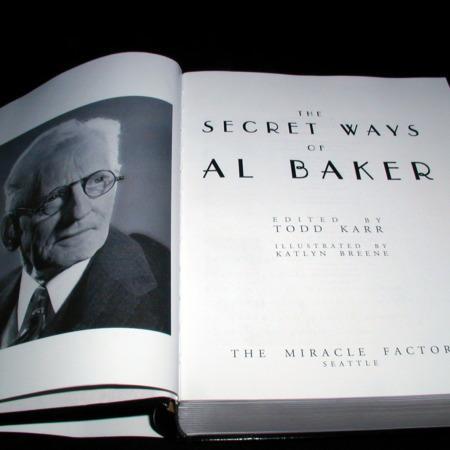 Secret Ways of Al Baker, (Deluxe Edition) by Al Baker