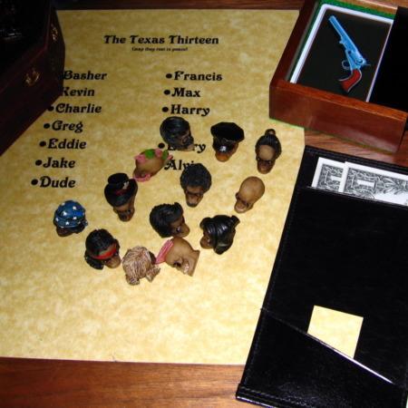 Texas Thirteen, The by Martin's Magic