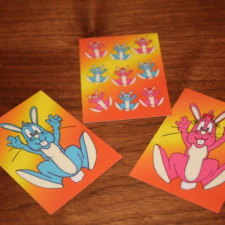 Three Card Bunny by James Munton