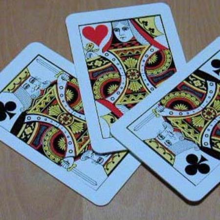 Three Card Monte - Jumbo by Vienna Magic