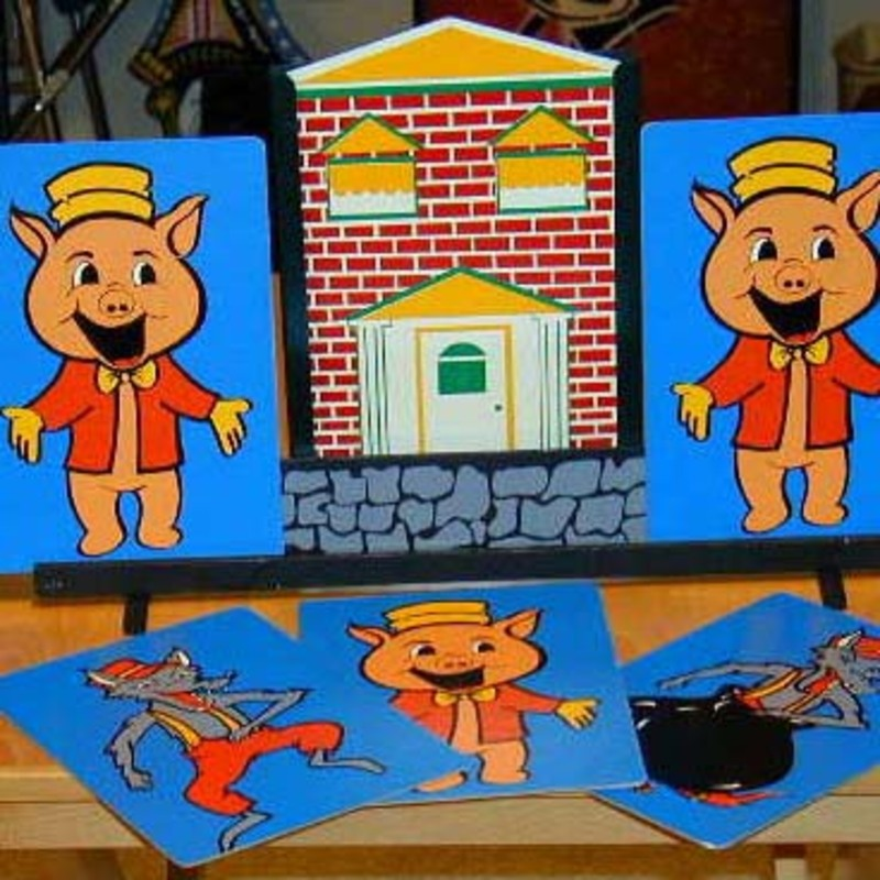 Three Little Pigs by Jam Magic  Martins Magic Collection