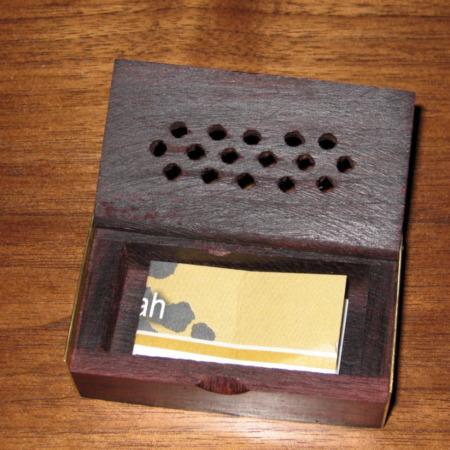 Tibetan Wishing Box by Allen Zingg