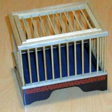 Tiny Bird Cage by Mikame Craft