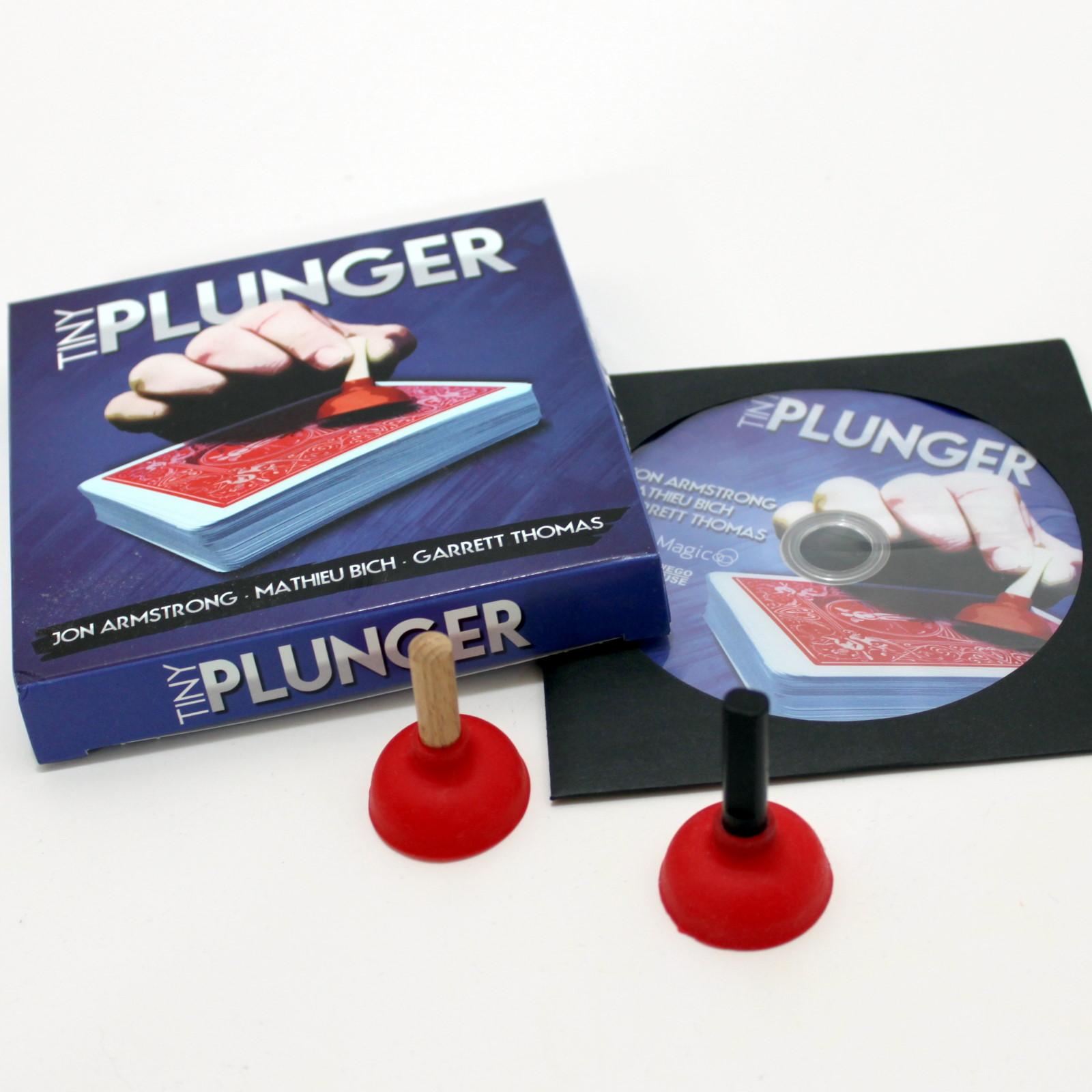 Tiny Plunger by Mathieu Bich, Jon Armstrong, Garrett Thomas