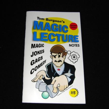 Tom Burgoon Lecture Notes No. 1 by Tom Burgoon