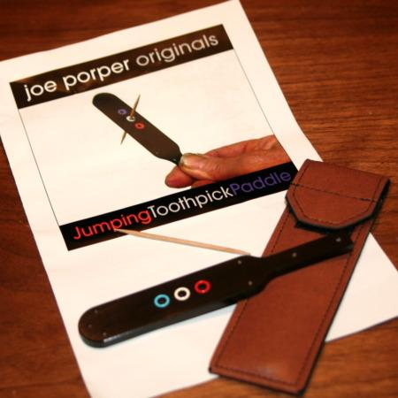 Jumping Toothpick Paddle by Joe Porper