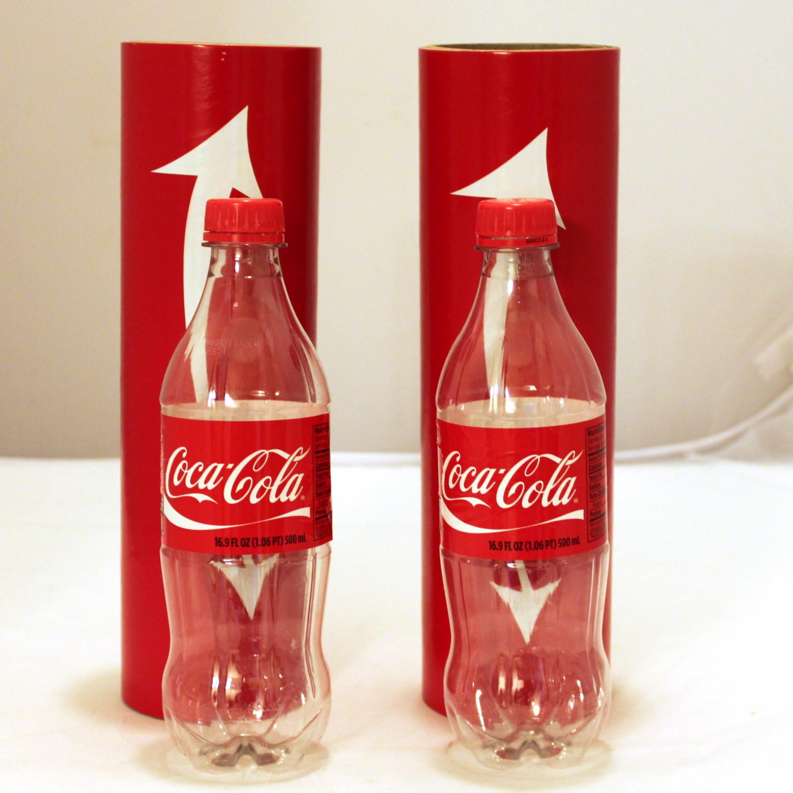 Topsy Turvy Soda Bottles by Wack-O-Magic