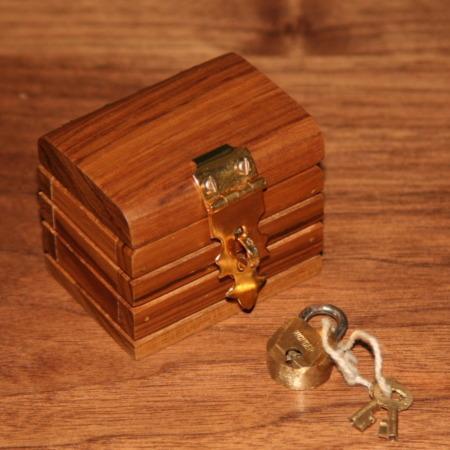 Treasure Chest Lippincott Box by Unknown