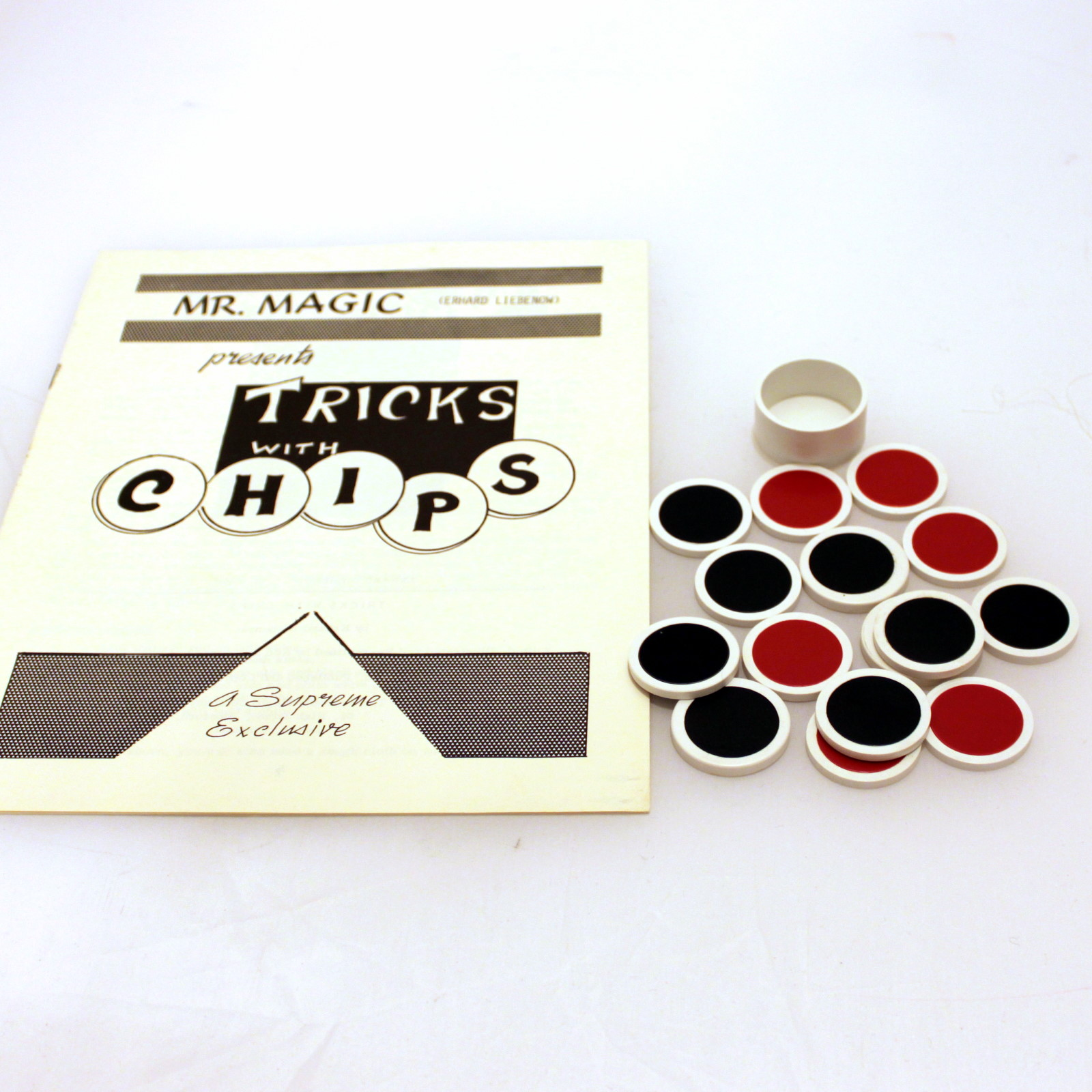 Tricks With Chips by Erhardt Liebenow