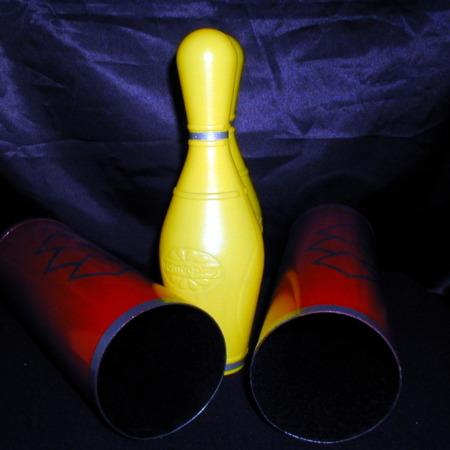 Tricky Bowling Pins by Jay Leslie