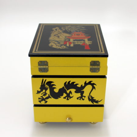 Triple Coin Boxes (Painted) by Mel Babcock