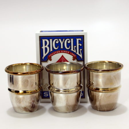Triple Combo Silver Cups and Balls by House of Magic