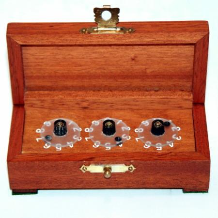 Triple Dial Divination Cabinet by Unknown