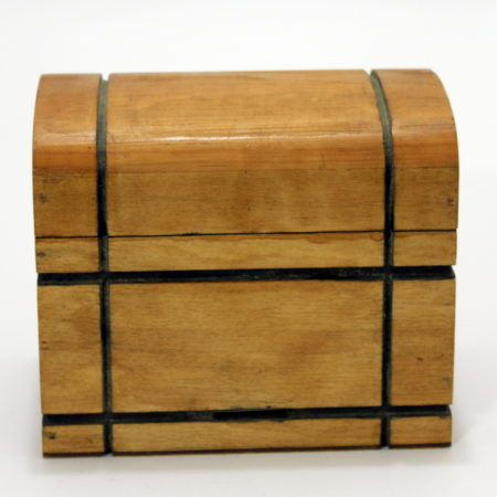 Triple Coin Boxes (Trunk) by Unknown