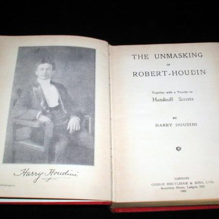 Unmasking of Robert-Houdin, The by Harry Houdini