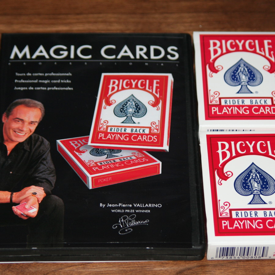 magic cards professional by pjean pierre vallarino. Black Bedroom Furniture Sets. Home Design Ideas
