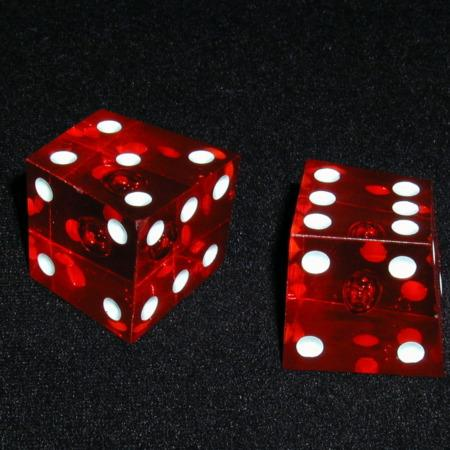 Crooked, Blank, and Normal Dice by Frank Starsinic