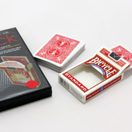 V Deck (Red) by Peter Nardi