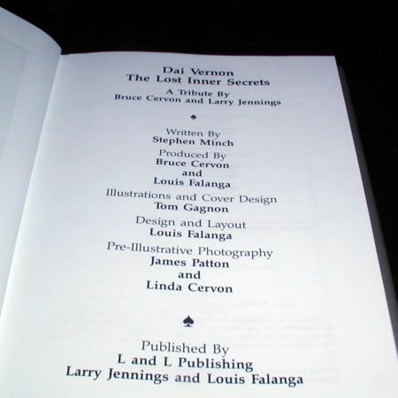 Vernon Chronicles Vol. 1 - Lost Inner Secrets by Stephen Minch