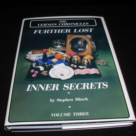 Vernon Chronicles Vol. 3 - Further Lost Inner Secrets by Stephen Minch