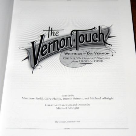 Vernon Touch, The by Dai Vernon