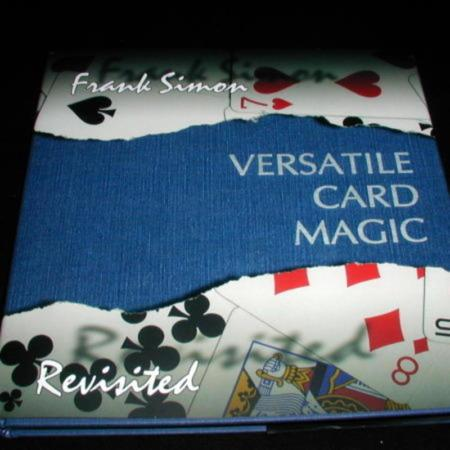 Versatile Card Magic by Frank Simon