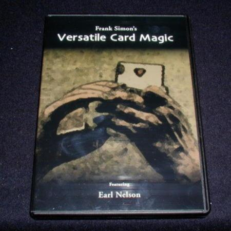 Versatile Card Magic - DVD by Frank Simon/Earl Nelson