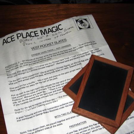 Vest Pocket Slates by Ace Place