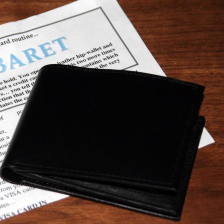 Vi$a Cabaret (Hip Wallet) by Stephen Tucker