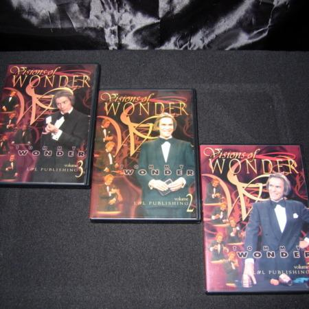 Visions of Wonder - Vols. 1-3 DVD by Tommy Wonder