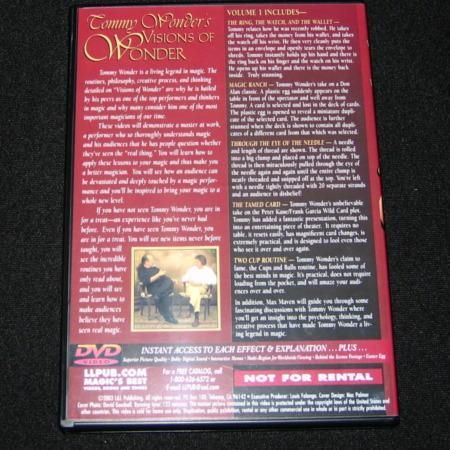 Visions of Wonder - Vols. 1-3 DVD by Tommy Wonder