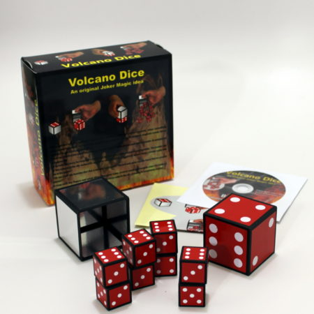 Volcano Dice by Joker Magic