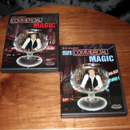 Commercial Magic - Vols. 1,2 DVD by J.C. Wagner