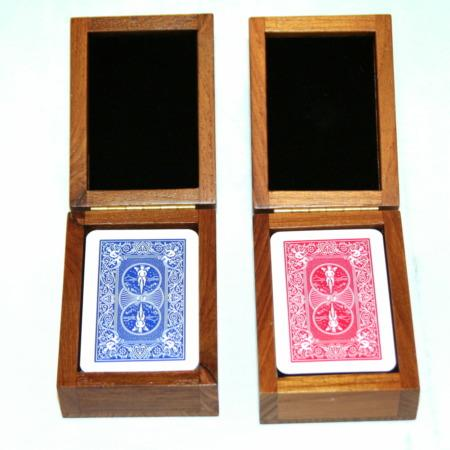 Mysterious Mini Card Boxes (Wagon) by Trickery
