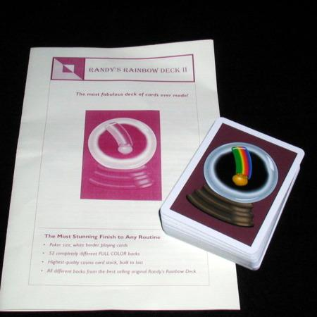 Rainbow Deck II by Randy Wakeman